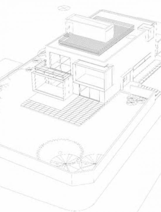 Opførelse af villa på Solvænget – med stue, 1.sal og tagterrasse på eksisterende kælder.